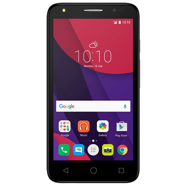 Смартфон Alcatel PIXI 4 DS Dark Gray (5045D) смартфон alcatel pixi 4 ds full white 5045d