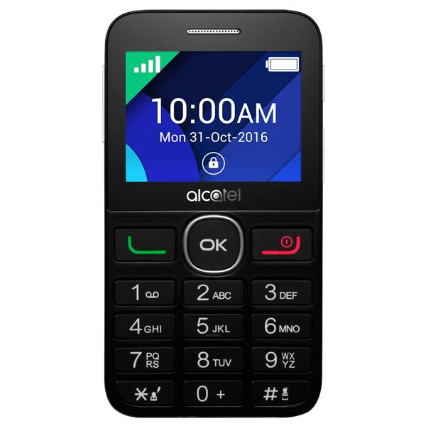 Мобильный телефон Alcatel 2008G Black/Pure White мобильный телефон alcatel one touch 2008g black pure white