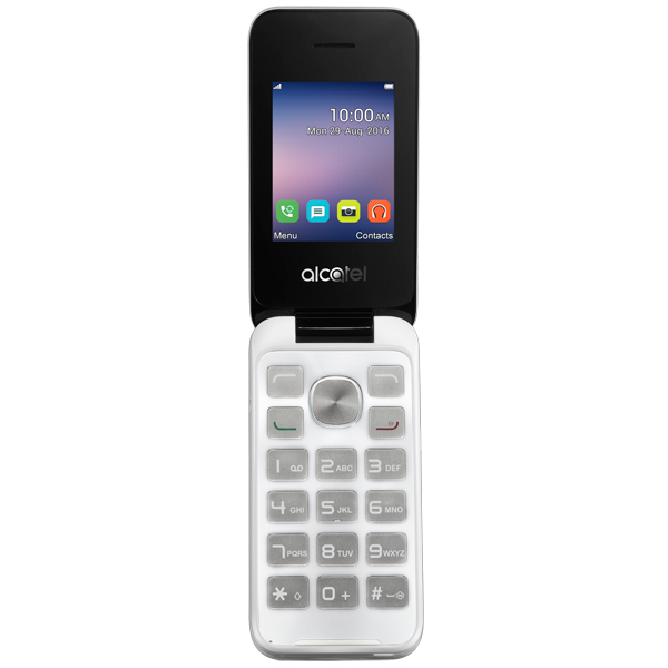 Мобильный телефон Alcatel 2051D Pure White мобильный телефон alcatel onetouch 2008g black white
