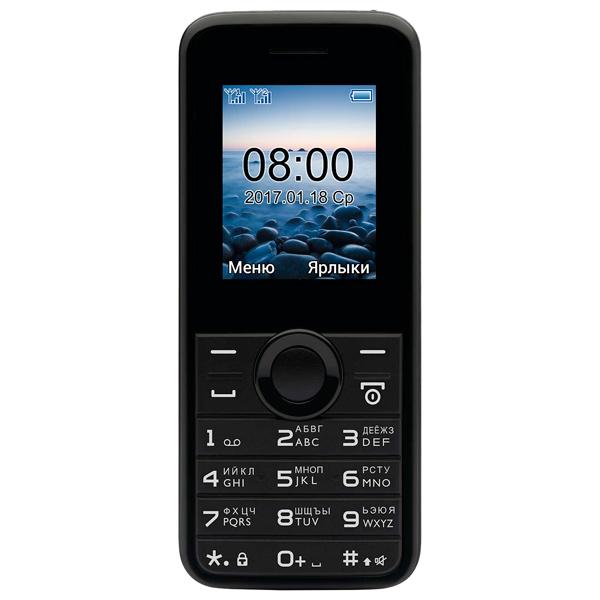 Мобильный телефон Philips E106 Black мобильный телефон philips e106 black