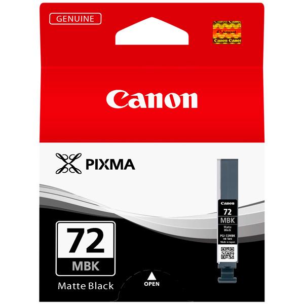Картридж для струйного принтера Canon PGI-72 MBK двойная упаковка картриджей canon pgi 520bk черный [2932b012]