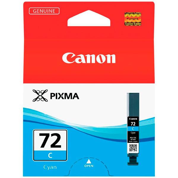 Картридж для струйного принтера Canon PGI-72 C двойная упаковка картриджей canon pgi 520bk черный [2932b012]