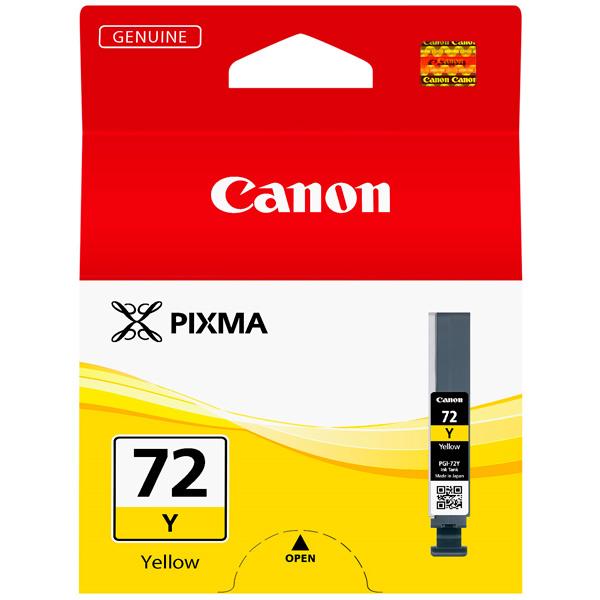 Картридж для струйного принтера Canon PGI-72 Y двойная упаковка картриджей canon pgi 520bk черный [2932b012]