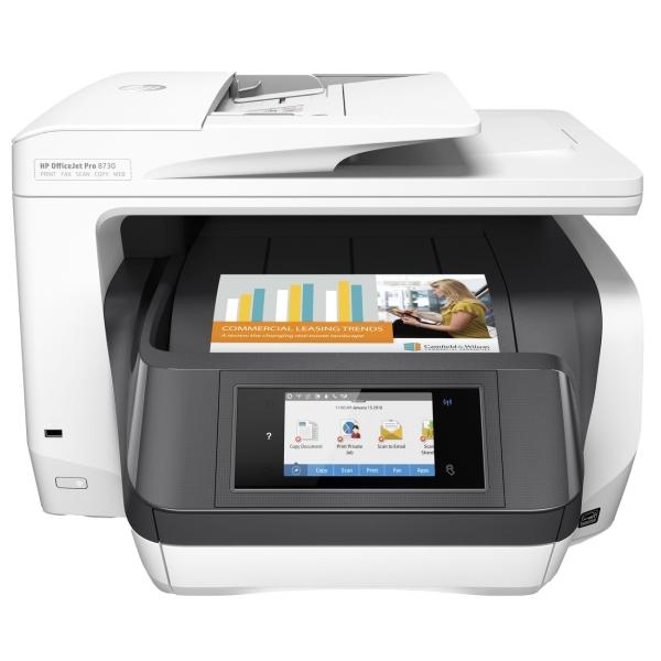 Струйное МФУ HP OfficeJet Pro 8730 (D9L20A) мфу hp officejet pro 8730