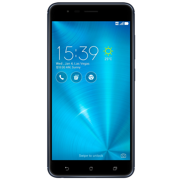 Смартфон ASUS ZenFone 3 Zoom ZE553KL 64Gb Black (3A056RU) смартфон asus zenfone zoom zx551ml 128gb