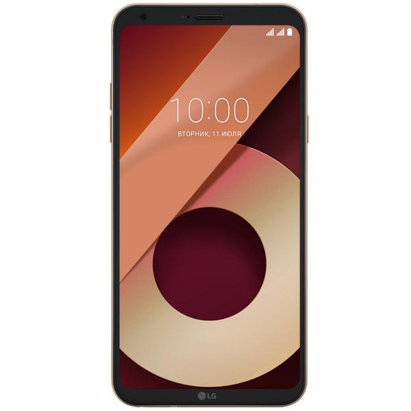 Смартфон LG Q6a Black/Gold (M700) смартфон fly fs512 nimbus 10 4g lte 8gb black