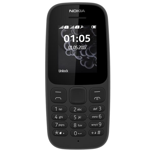 Мобильный телефон Nokia 105 DS Black (TA-1034) мобильный телефон nokia 105 ds white 2017 a00028316