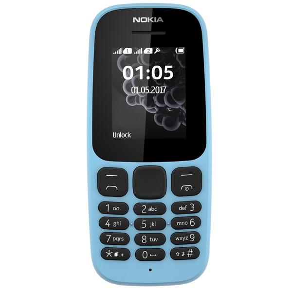 Мобильный телефон Nokia 105 DS Blue (TA-1034) мобильный телефон nokia 105 ds white 2017 a00028316
