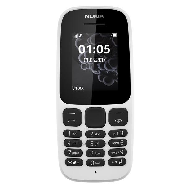 Мобильный телефон Nokia 105 White (TA-1010) nokia n97 mini первый мобильный компьютер