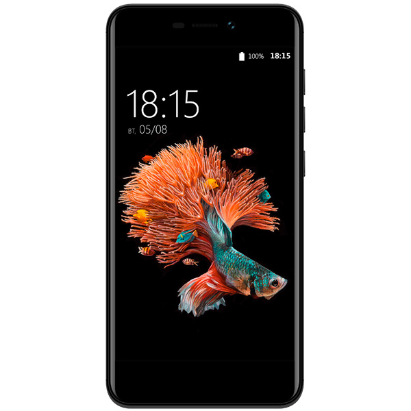Смартфон BQ mobile Strike Power LTE Black (BQ-5037) смартфон fly fs523 cirrus 16 lte black