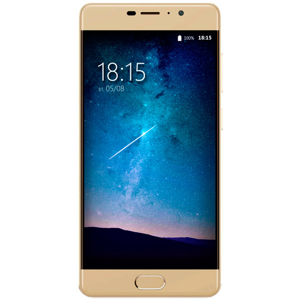 Смартфон BQ mobile Space Lite Gold (BQ-5202) ноутбук lenovo 320 15iap 80xr0076rk intel celeron n3350 1 1 ghz 4096mb 500gb no odd intel hd graphics wi fi cam 15 6 1366x768 dos