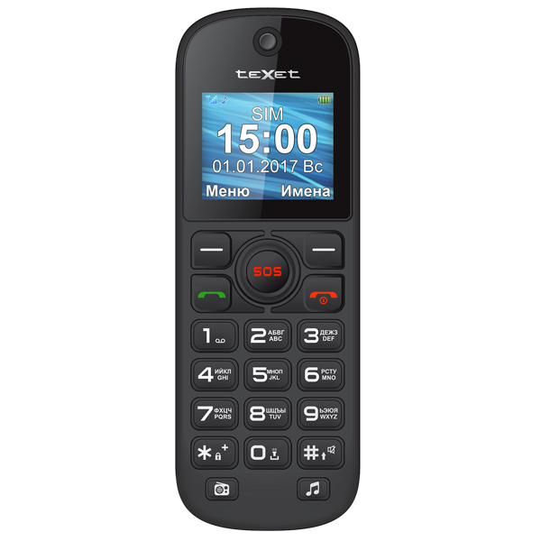 цена на Мобильный телефон teXet TM-B320 Black