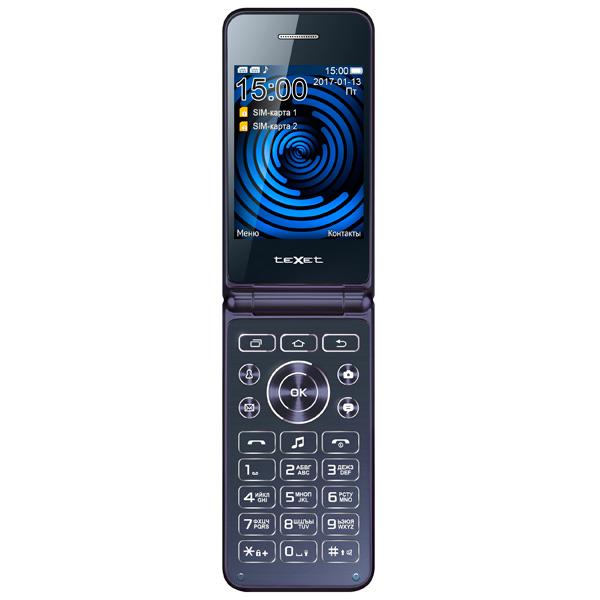 где купить Мобильный телефон teXet TM-400 Blue дешево