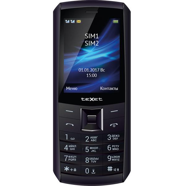 Мобильный телефон teXet — TM-D328 Black