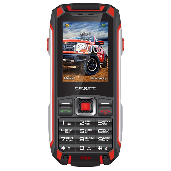 Мобильный телефон teXet X-signal TM-515R Black-Red мобильный телефон texet tm 125 black red