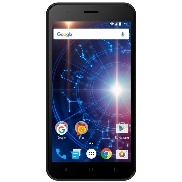 Смартфон Vertex Impress Luck 3G Black смартфон vertex impress luck nfc lte blue