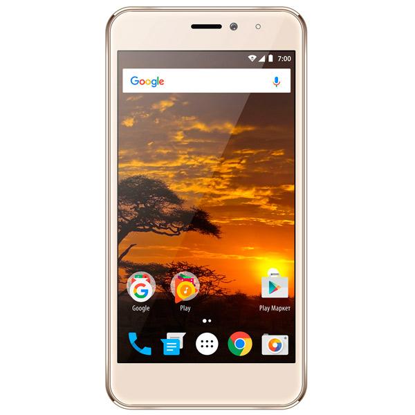 f96e07a0f9ce0 Купить Смартфон Vertex Impress Lion 4G Gold в каталоге интернет ...
