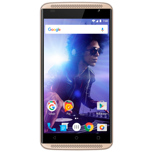 Смартфон Vertex Impress Groove 3G Gold vertex vertex impress lion 4g