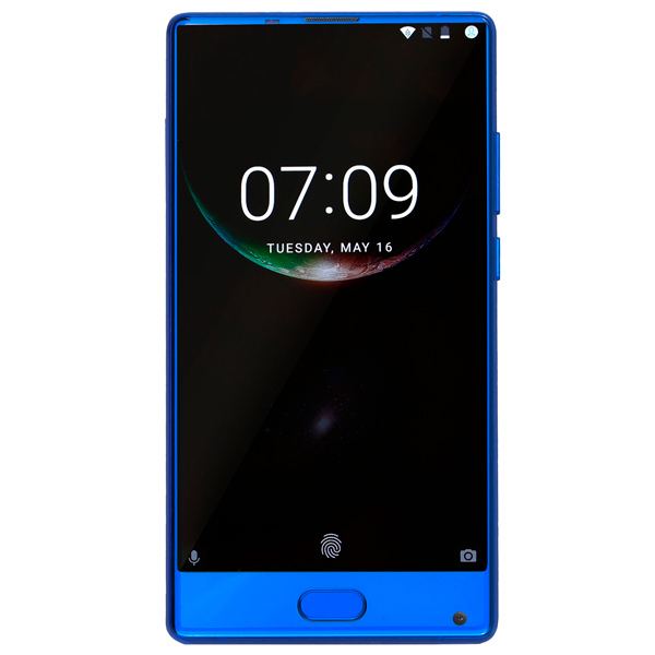 Смартфон Doogee MIX 4Gb+64Gb Aurora Blue айфон 4 16 гб дешево в москве бу