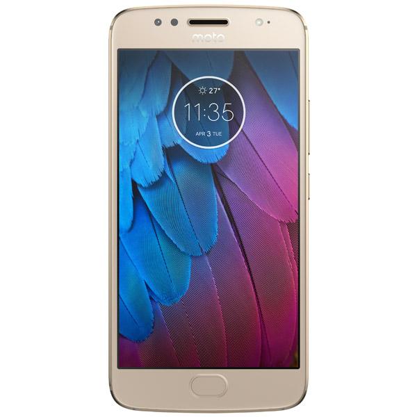 Смартфон Motorola MOTO G5S Fine Gold (XT1794) смартфоны motorola motorola g5s xt1794 gold