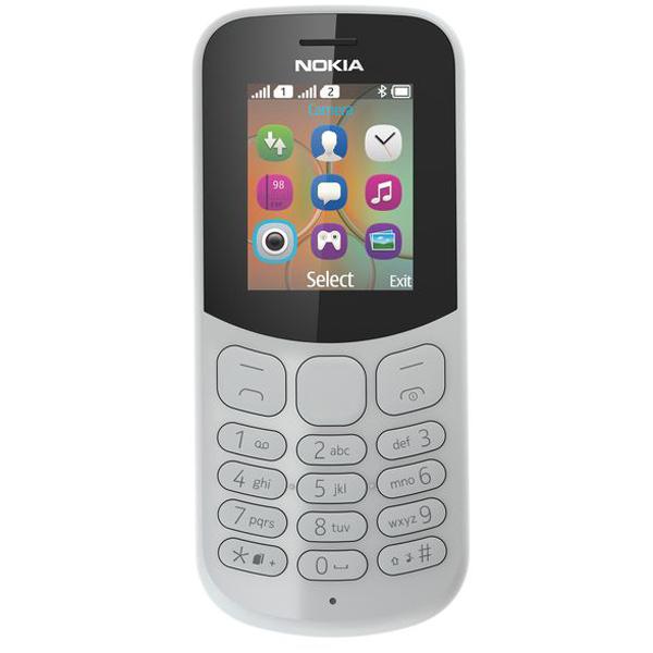 Мобильный телефон Nokia 130 DS Grey (TA-1017) смартфон nokia 8 ds cooper ta 1004