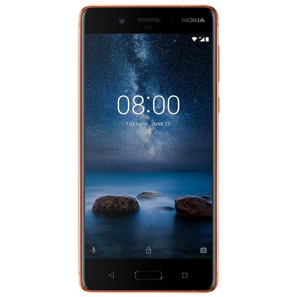 Смартфон Nokia 8 DS Cooper (TA-1004) смартфон nokia 8 ds cooper ta 1004