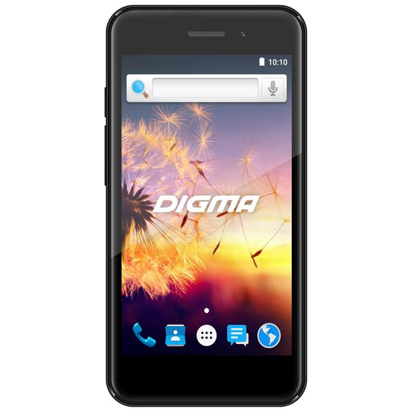 Смартфон Digma Linx A452 3G Graphite планшет digma plane 1601 3g ps1060mg black