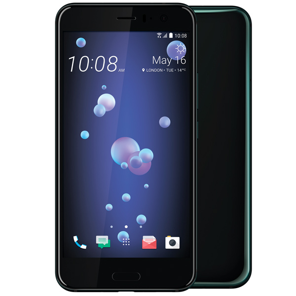 Смартфон HTC U11 128Gb Brilliant Black смартфон htc u ultra brilliant black 128gb android 7 0 nougat msm8996 2150mhz 5 7 2560х1440 4096mb 128gb 4g lte [99halu052 00]