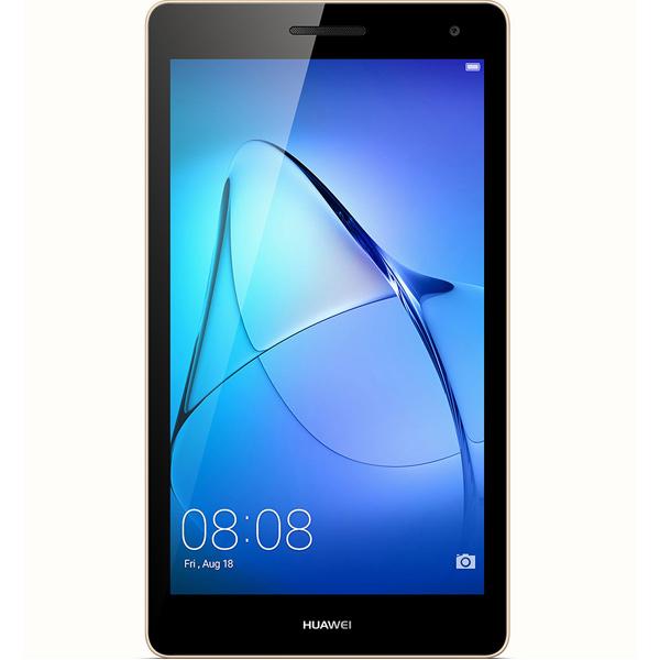 Планшет Huawei MediaPad T3 7 1+8Gb 3G Gold (BG2-U01) смартфон micromax canvas juice 4 q465 gold quad core 1 3 ghz 5 hd ips 1280 720 2 gb 16 gb 8mpx 5mpx 4g 3900mah 2 sim android 5 1
