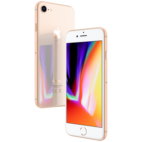 Смартфон Apple iPhone 8 64GB Gold (MQ6J2RU/A) купить apple iphone 5 64gb black gold