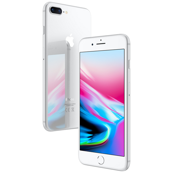 Смартфон Apple iPhone 8 Plus 64GB Silver (MQ8M2RU/A) сотовый телефон apple iphone 8 plus 64gb silver mq8m2ru a