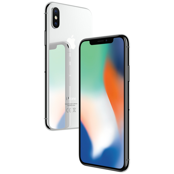 Смартфон Apple iPhone X 64GB Silver (MQAD2RU/A) simba simba гитара hello kitty 6 36
