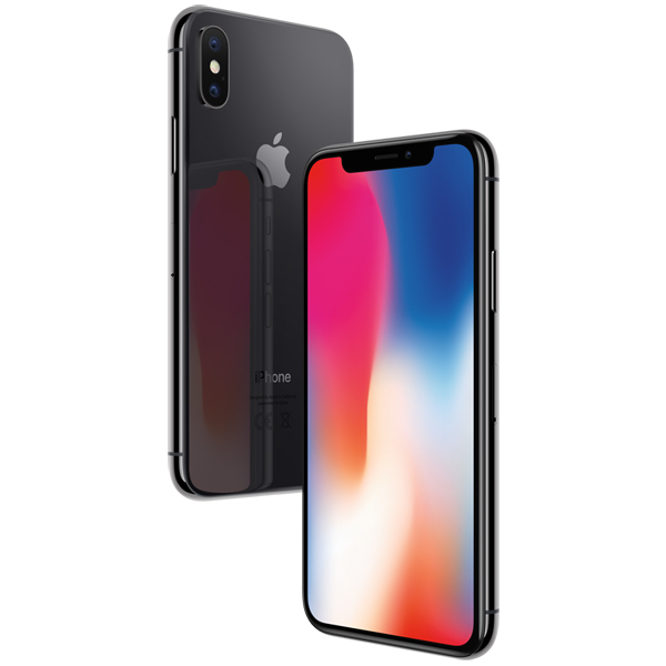 75124bd3a9c56 Купить Смартфон Apple iPhone X 256GB Space Gray (MQAF2RU/A) в ...