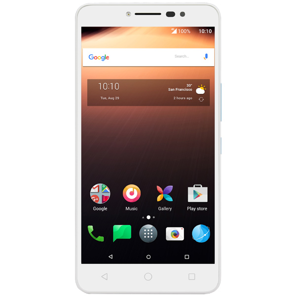 Смартфон Alcatel A3 XL White+Alcatel Blue/ White TP (9008D) смартфон highscreen fest xl pro blue