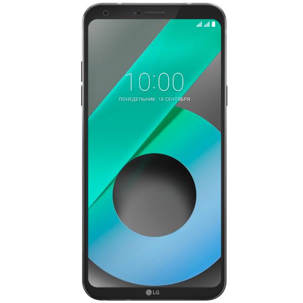 Смартфон LG Q6 Black (M700AN) ноутбук hp stream 11 y006ur cel n3050 1 6ghz 11 6 4gb 32gb hd graphics w10 home white y7x25ea