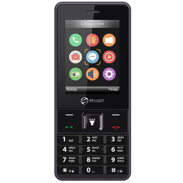 Мобильный телефон Senseit L208 мобильный телефон senseit l208 black