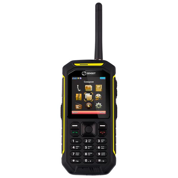 Мобильный телефон Senseit P300 Yellow рация