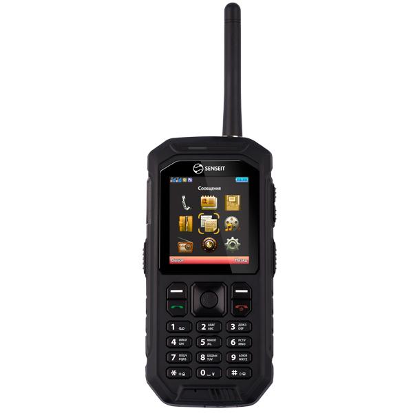 Мобильный телефон Senseit P300 Black мобильный телефон senseit l208 black