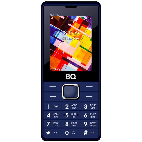 Мобильный телефон BQ mobile BQ-2412 Quattro Dark Blue
