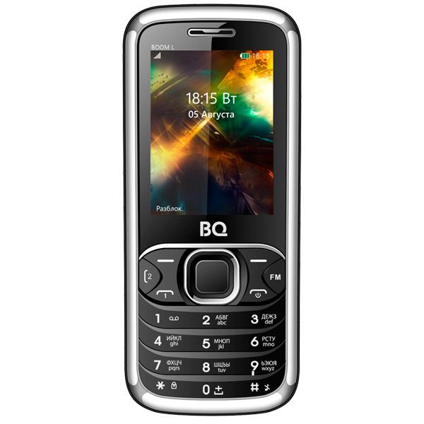 Мобильный телефон BQ mobile BQ-2427 BOOM L Black мобильный телефон bq mobile bq 2427 boom l silver