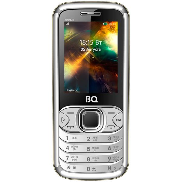 Мобильный телефон BQ mobile BQ-2427 BOOM L Silver philips hd3095 03 мультиварка