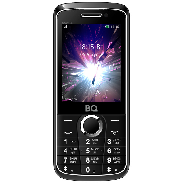Мобильный телефон BQ mobile BQ-2805 BOOM XL Black аксессуар чехол sony xperia l1 brosco black l1 4side st black