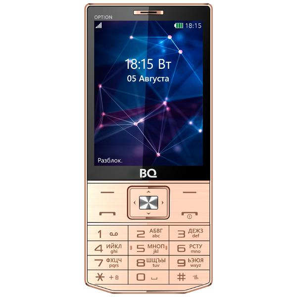 Мобильный телефон BQ mobile BQ-3201 Option Gold клей loctte 3201 1