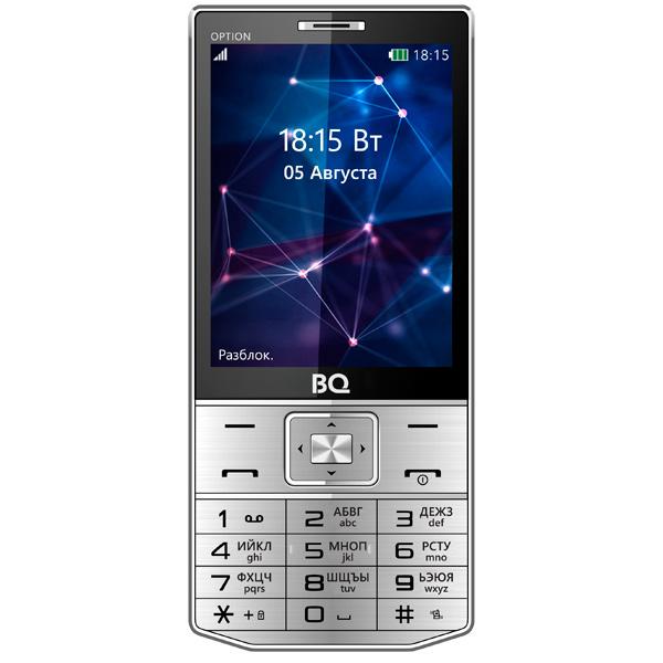 Мобильный телефон BQ mobile BQ-3201 Option Silver клей loctte 3201 1