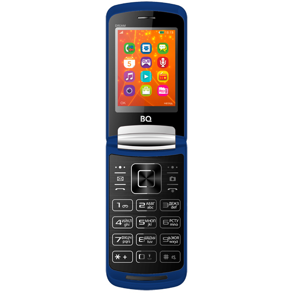 Мобильный телефон BQ mobile BQ-2405 Dream Dark Blue bq телефон bq 2405 dream