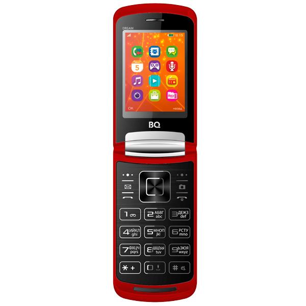 Мобильный телефон BQ mobile BQ-2405 Dream Red bq телефон bq 2405 dream