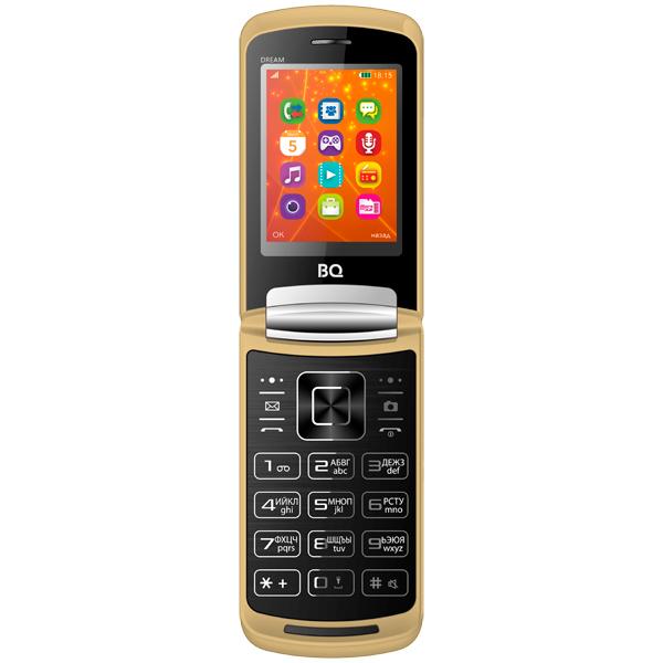 Мобильный телефон BQ mobile BQ-2405 Dream Gold bq телефон bq 2405 dream