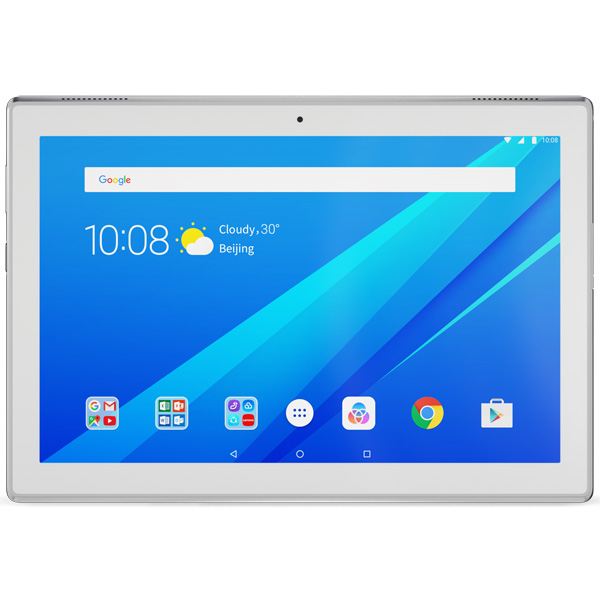 Планшет Lenovo Tab4 10 TB-X304L 10.1 16Gb LTE White(ZA2K0082RU) планшет lenovo tb x304l za2k0082ru qualcomm snapdragon 425 1 4 ghz 2048mb 16gb gps lte wi fi bluetooth cam 10 1 1280x800 android