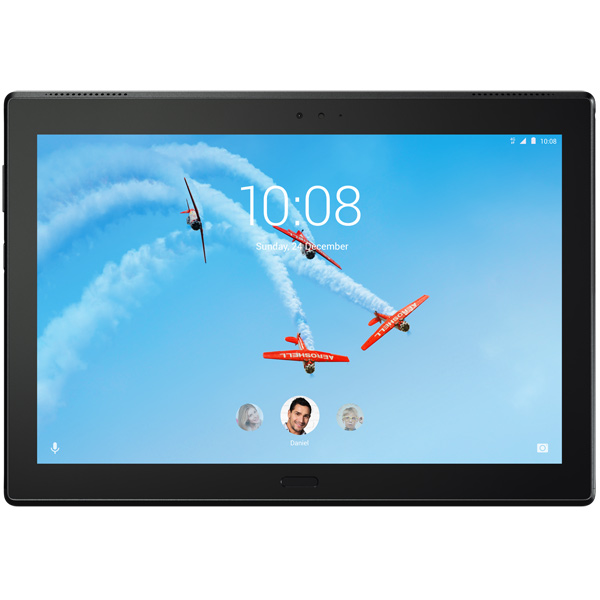 Планшет Lenovo Tab4 10 Plus TB-X704L 16Gb LTE Black (ZA2R0018RU) сотовый телефон lenovo k10 vibe c2 power k10a40 16gb black