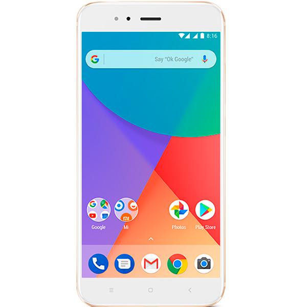 Смартфон Xiaomi Mi A1 64Gb Gold смартфон xiaomi mi a1 64gb gold